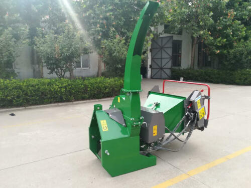 BXH-712 Wood Chipper with Hydraulic Motor & Controls
