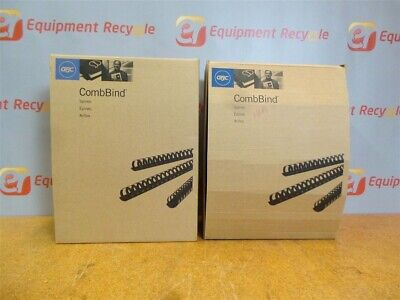 Gbc Combbinds 1 12 Binding Spines Comb 4200010 New