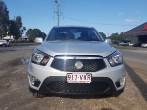 2013 Ssangyong Actyon Sports Ute/MANUAL/DIESEL/6 MONTHS REGO/RWC
