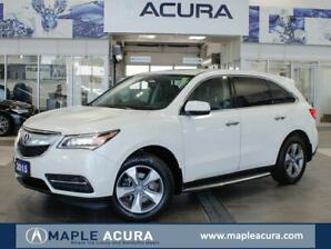 2015 Acura MDX Base, one owner, well maintained, no accidents