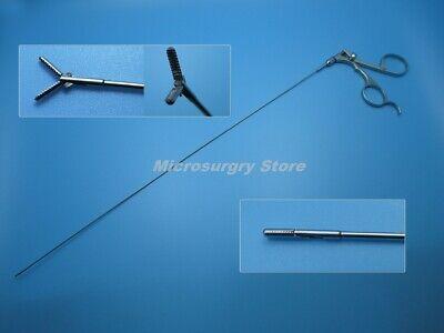 Φ1.6mm 5 fr x 580mm Semi rigid Grasping Forceps for Ureterorenoscopy