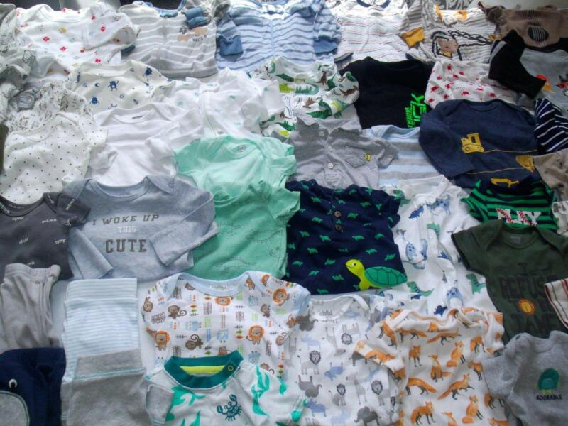 Huge Baby Boy Newborn 0-3 3 Months Spring Clothes Outfits Lot!