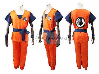 Dragonball Son Goku Anime Trainingsanzug Kame Cosplay Kostüm - Dragonball Kostüme