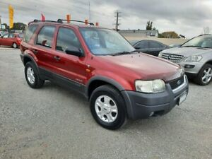 2003 Ford Escape BA Limited Red 4 Speed Automatic SUV Officer Cardinia Area Preview