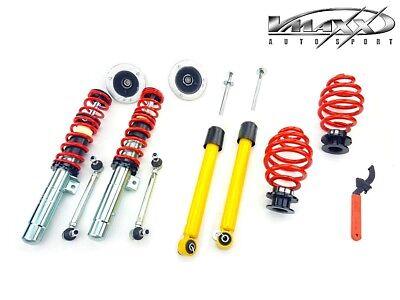 Adjustable Coilover Suspension Kit For BMW 3 Series E46 + Adj End Links - V-Maxx