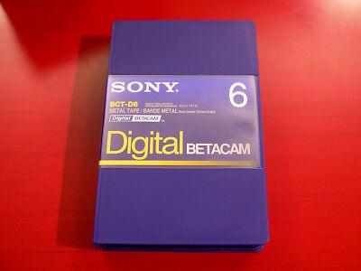 Кассеты и диски Sony BCT-D6 Digital