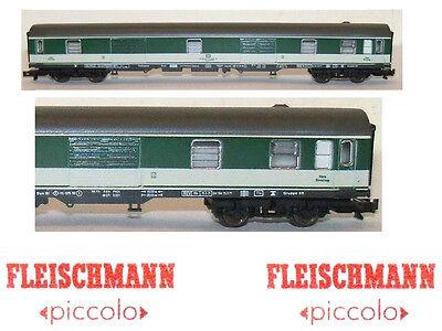 FLEISCHMANN 8639 Waggon Mischung Postale-Stamm DB mit Kabine Personal