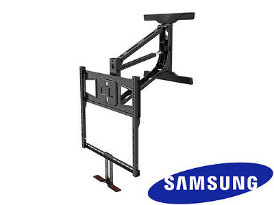 Above Fireplace Pull Down Full Motion Samsung TV Wall Mount 43