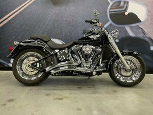 2013 Harley-Davidson FLSTF Fat Boy Cruiser 1690cc