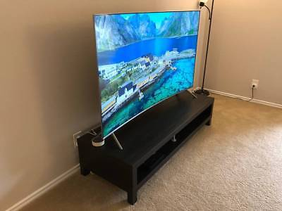 Samsung 65-Inch Curved 4K Ultra-HD HDR LED LCD Smart TV