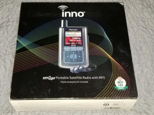Pioneer Xm2Go GEX-INNO1 Portable Satellite Radio MP3, W Accessories. See images