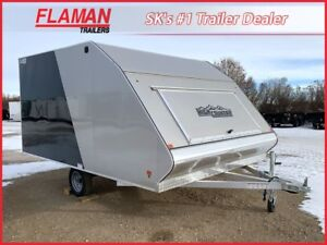 High Country 12' Crossover Sled Trailer - Aluminum 2-Place!