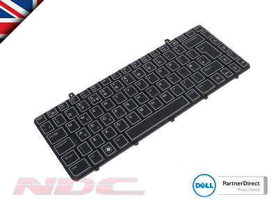 NEW Dell Alienware M11x R2/R3 UK ENGLISH Laptop Keyboard with AlienFX LED 05HK36