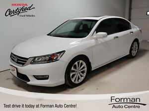 2013 Honda Accord Touring - Local | Navigation | Htd. Heather...