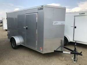 2019 Bravo Scout 6x12 Enclosed Cargo Trailer