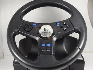Logitech Steering Wheel (PS2) Yatala Vale Tea Tree Gully Area Preview