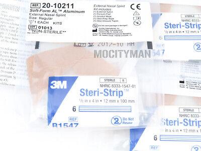 Invotec External Aluminum Nasal Splint Regular Size - 1 Pack 5 Pcs - Expired