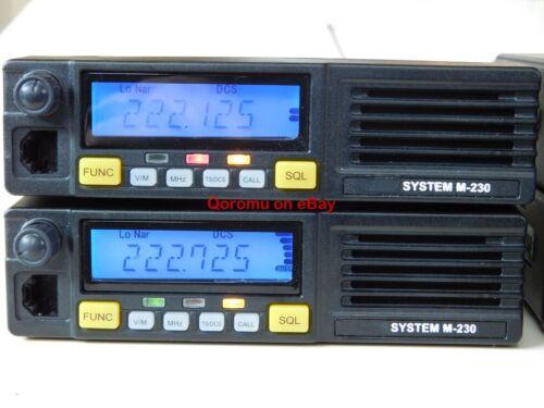 System M-230 Repeater for HAM Amateur Radio 1.25 meter 220 MHz