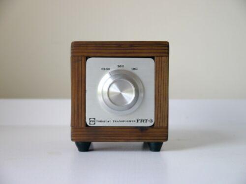 ∎ Vintage Fidelity Research FRT-3 moving coil MC stepup transformer