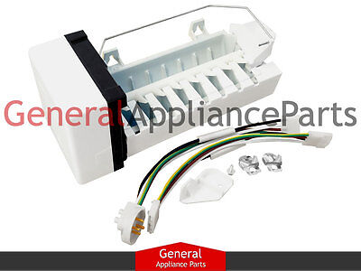 Whirlpool Icemaker 1301601A P1165801W IC11 AMKIT97 AMKIT02 1165801A w/Harness