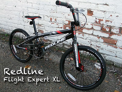 Used, New Redline Flight Expert XL BMX Racing Bike Black/Gray for sale  Shipping to Canada