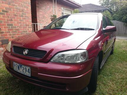 Holden Astra (Manual) in good condition (urgent) Murrumbeena Glen Eira Area Preview