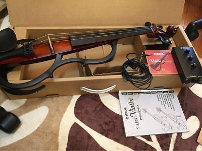 Yamaha SV-255 Silent Electric violin viola 5-string Brown USED