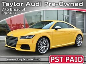 2016 Audi TTS 2.0T LOCAL TRADE, PST PAID, LOW KM, DRIVER COMF...