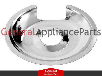 "Stove Range Cooktop 8"" Chrome Burner Drip Pan Replaces Bosch"