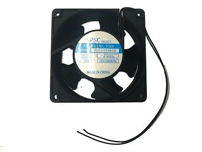 High Speed Muffin Fan With Cooling Axial 110 Cfm 120 Mm X 120 Mm X 38 Mm 110v
