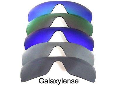 Ersatzgläser für Oakley Batwolf Sonnenbrille Black&gray&blue&purple&green gebraucht kaufen  Versand nach Germany
