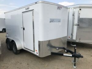 2019 Bravo Scout 6x12 SA Enclosed Cargo Trailer
