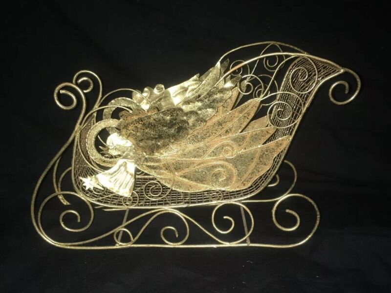 GOLDEN WINGS SLEIGH~House of LLoyd~Christmas Around the World