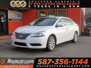 2015 Nissan Sentra 1.8 S/ Low KMs