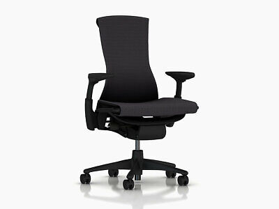 Embody Office Desk Chair -by Herman Miller - Carbon Balance Fabric - Brand New