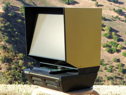 NCR Pacific Stereo Microfiche Reader - OWN A PIECE OF AUDIO INDUSTRY HISTORY!