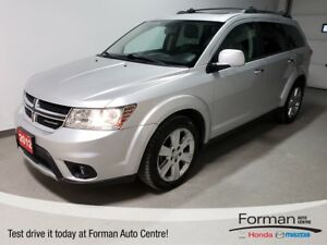 2012 Dodge Journey R/T |AlWD|Dualzone|HTD Leather|Rmt Start