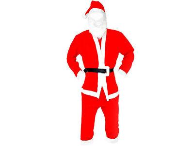 Weihnachtsmannkostüm Weihnachten Nikolaus Kostüm Santa Claus Fasching 120