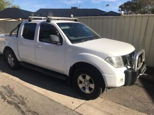 2009 Nissan Navara Rx (4x4) 5 Sp Automatic Dual Cab P/up