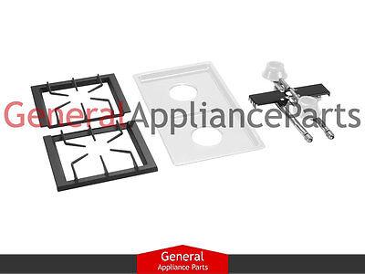 - Jenn-Air Designer Line ProStyle Gas Cooktop White Grey Two Burner Module AG202MG