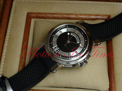 Breguet Marine Automatic Big Date Stainless Steel 39mm Black Dial 5817ST/92/5V8