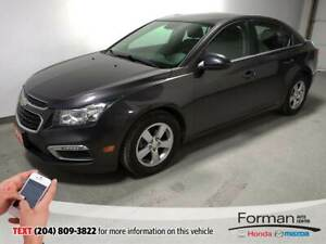 2015 Chevrolet Cruze Loaded|Htd Lthr|Camera|Rmt Start|Alloys|Loa