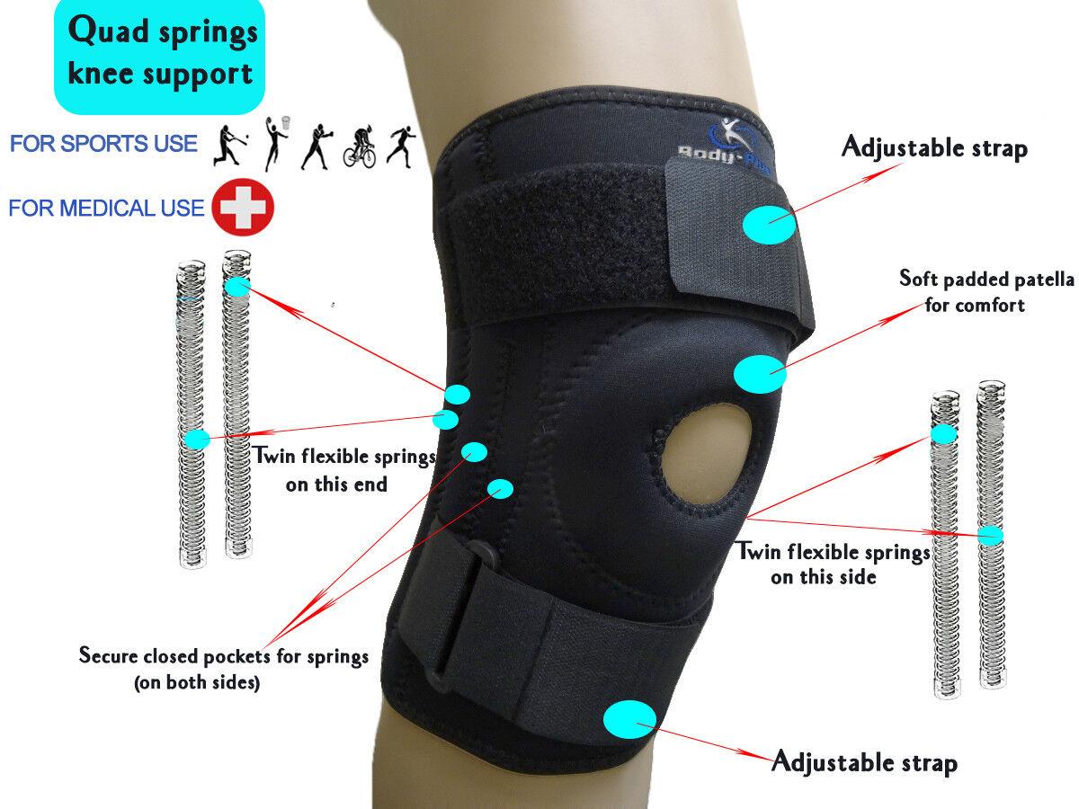 Knee Brace Support Neoprene Patella stabilising Belt Adjustable Fitness Support