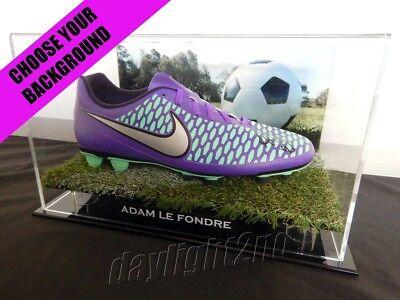 ✺Signed✺ ADAM LE FONDRE Football Boot PROOF COA Sydney FC 2018 2019 Jersey image