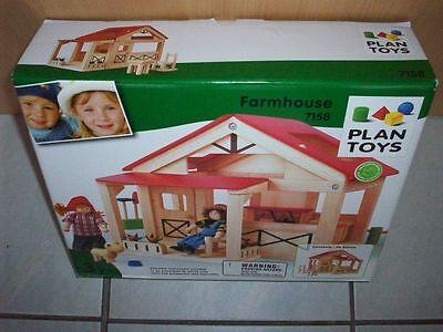 Plantoys 7158 - Bauernhaus - Holzspielzeug - Neu / OVP