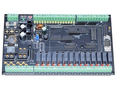 Industrial Plc Diy Kit With 46 Analog And Digital Io For Arduino Mega2560
