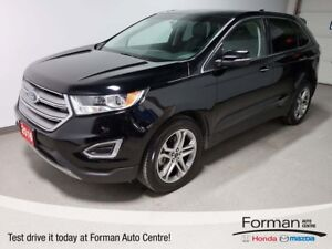 2016 Ford Edge Titanium|Navi|Rmt Start|Htd Leather|Pan Roof