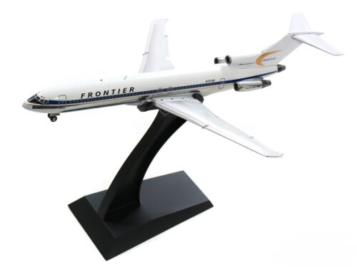 Inflight IF722F90119P Frontier Airlines B727-200 N7278F Diecast 1/200 Jet Model