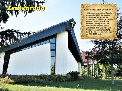 Zeulenroda Katholische Kirche  Thüringen