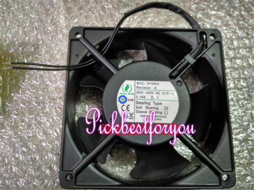 1pc MUTUAL MOTOR M115AA2H 200-240(V) 22W 0.13A 120*120*25MM cooling fan #MS91 QL